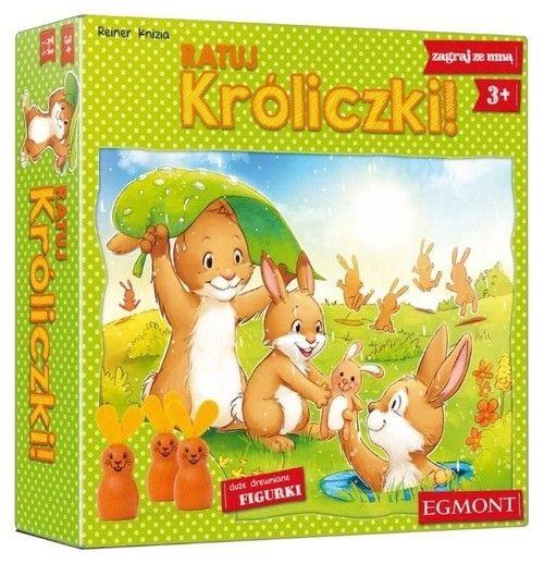 Gra planszowa Ratuj króliczki 3+