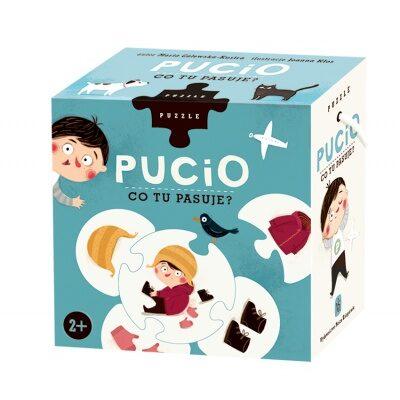 "Puzzle Pucio ,,Co tu pasuje?"""