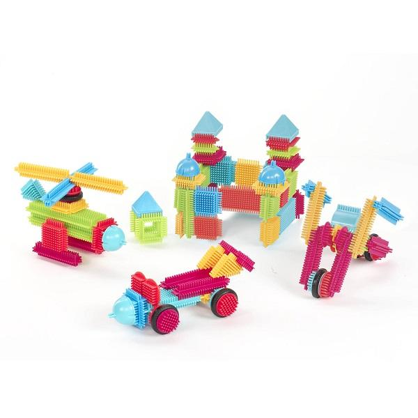 Klocki Jeżyki 112el. | B.Toys