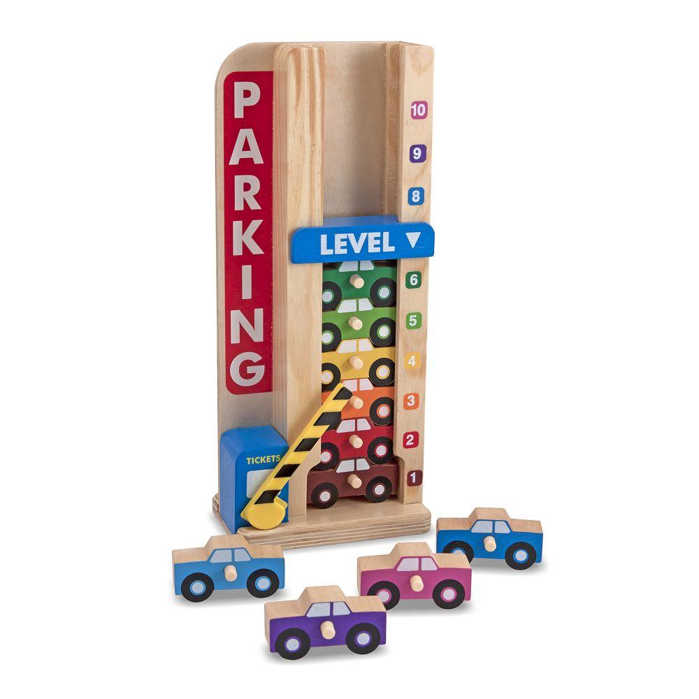 Parking piętrowy – Garaż z autkami | Melissa&Doug