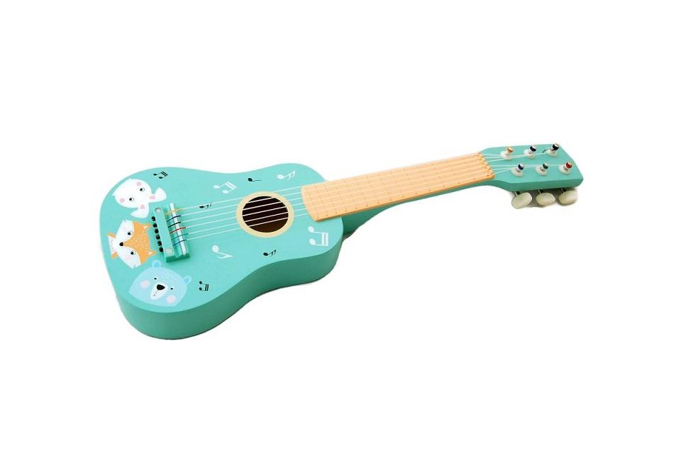 Miętowa gitara Zwierzaki   AdamToys