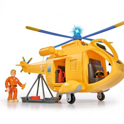 Strażak Sam Helikopter Wallaby II + figurka i akcesoria   Simba