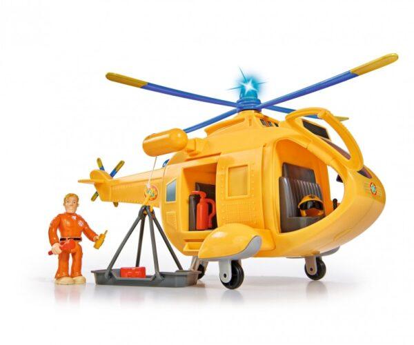 Strażak Sam Helikopter Wallaby II + figurka i akcesoria | Simba