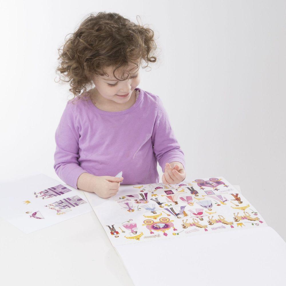 Naklejki dla dziewczynek – ponad 700 sztuk | Melissa&Doug