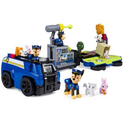 Psi Patrol Patrolowiec Chase rozkładany   SpinMaster