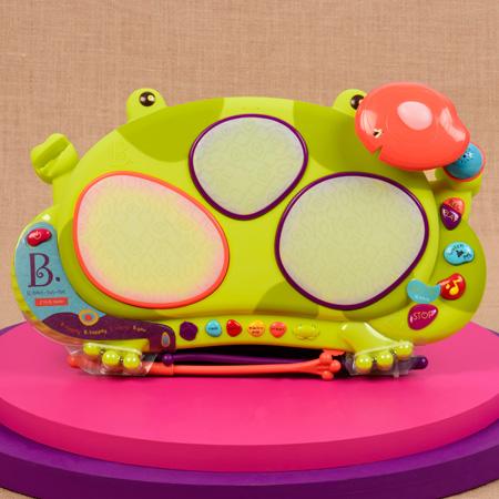 Perkusja żaba Ribbit-tat-tat | B.Toys