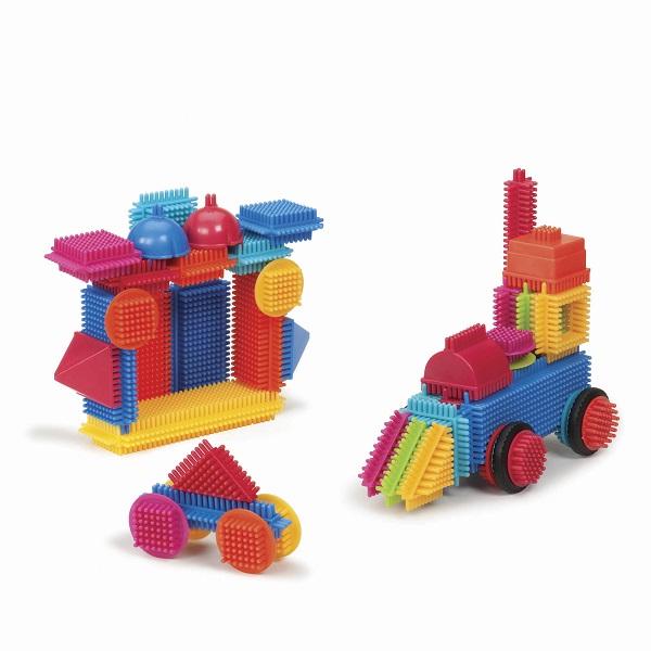 Klocki Jeżyki 50el w tubie   B.Toys