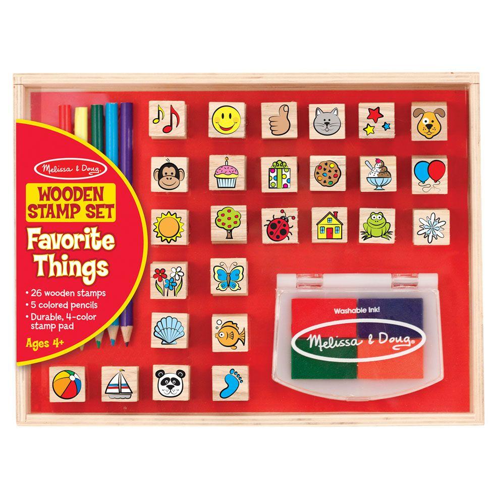 Stempelki – znaczki 26szt | Melissa&Doug