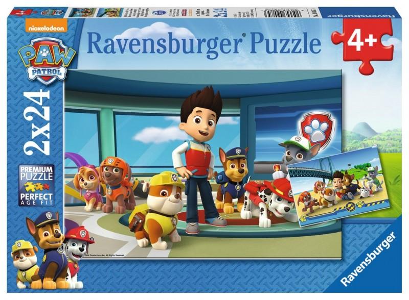 Puzzle 2x24 elementy - Psi Patrol, Pomocny węch