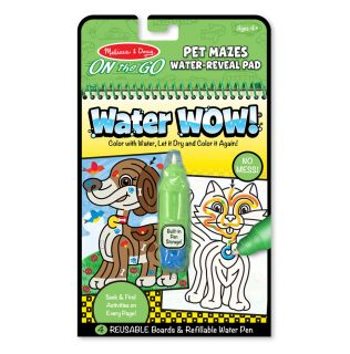 Kolorowanka wodna wielokrotnego użytku Labirynt   Melissa&Doug
