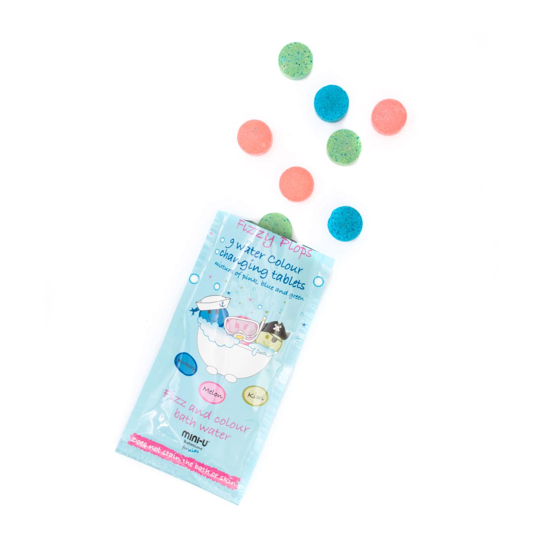 Tabletki do kąpieli w 3 kolorach – 9 sztuk | Miniu
