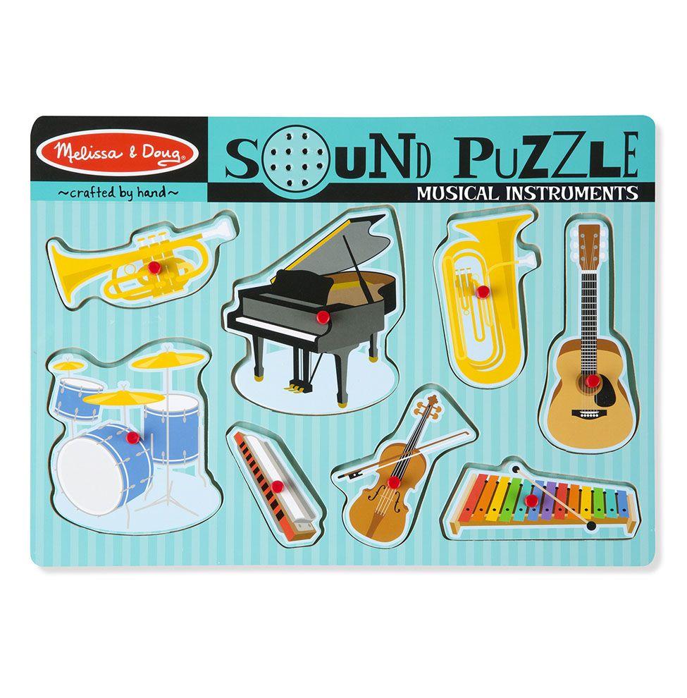 Puzzle dźwiękowe - Instrumenty muzyczne | Melissa&Doug
