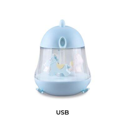 Lampka z pozytywką Niebieska | Rabbit&Friends