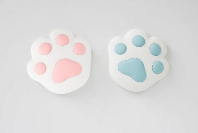 Lampka łapka silikonowa Niebieska | Rabbit&Friends