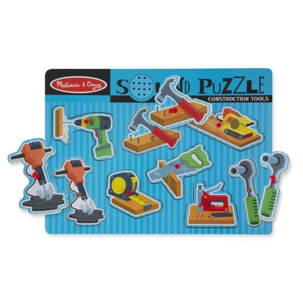 Puzzle dźwiękowe - Narzędzia | Melissa&Doug