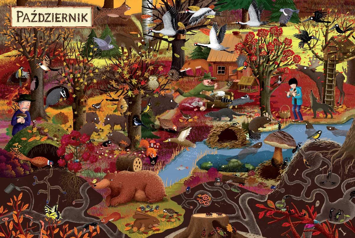 Rok w lesie | Emilia Dziubak