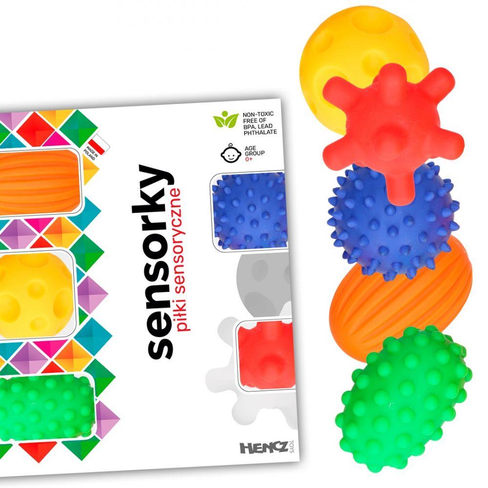 Piłeczki sensoryczne 5szt | Mom's