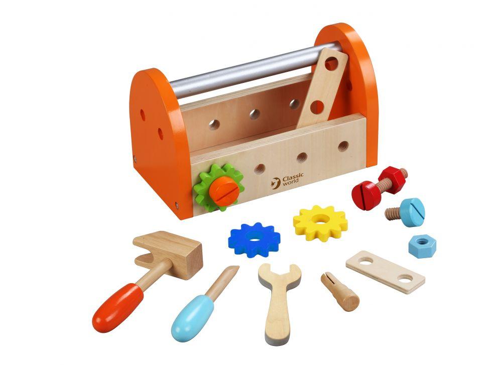 Skrzynka z narzędziami – zestaw stolarzaa   ClassicWorld