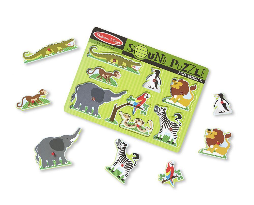 Puzzle dźwiękowe – Zoo   Melissa&Doug