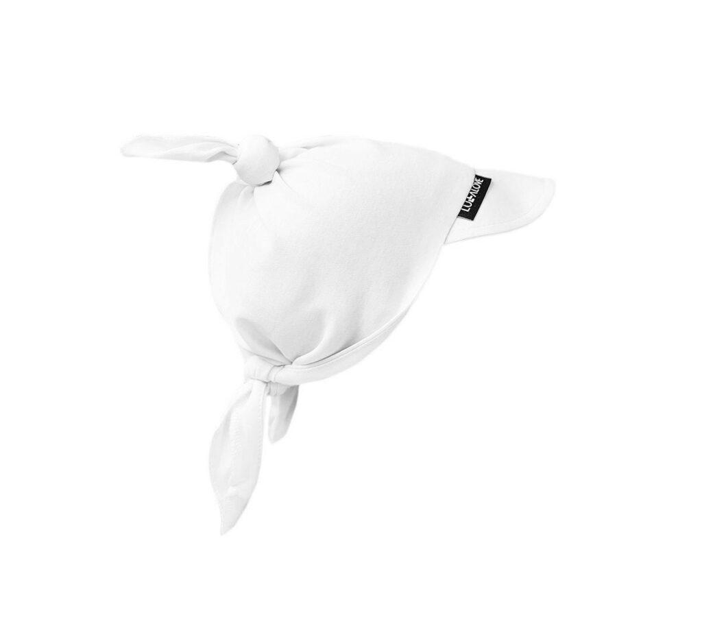 Chustka z daszkiem Biała | Lullalove