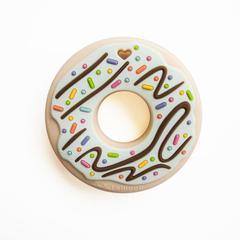 Gryzak silikonowy Donut Mint | Loulou Lollipop