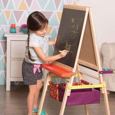 Sztaluga małego artysty - Easel does it | B.Toys