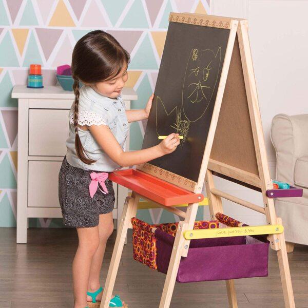 Sztaluga małego artysty - Easel does it   B.Toys
