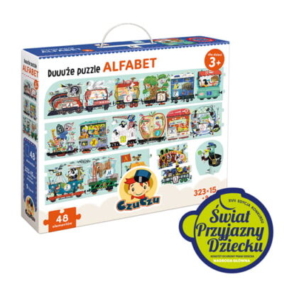 Puzzle Alfabet XXL + figurki   Czuczu