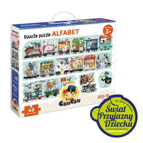 Puzzle Alfabet XXL + figurki | Czuczu