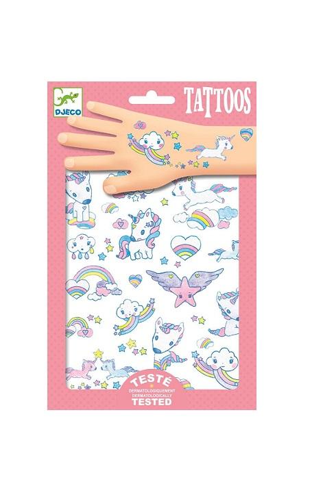 Tatuaże Jednorożce | Djeco
