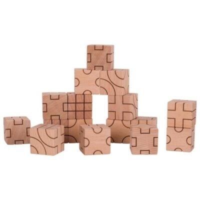 Klocki w geometryczne wzory | Goki