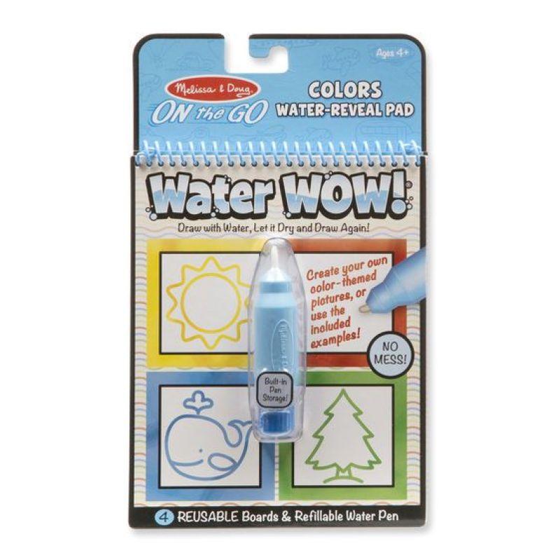 Kolorowanka wodna wielokrotnego użytku Kształty   Melissa&Doug