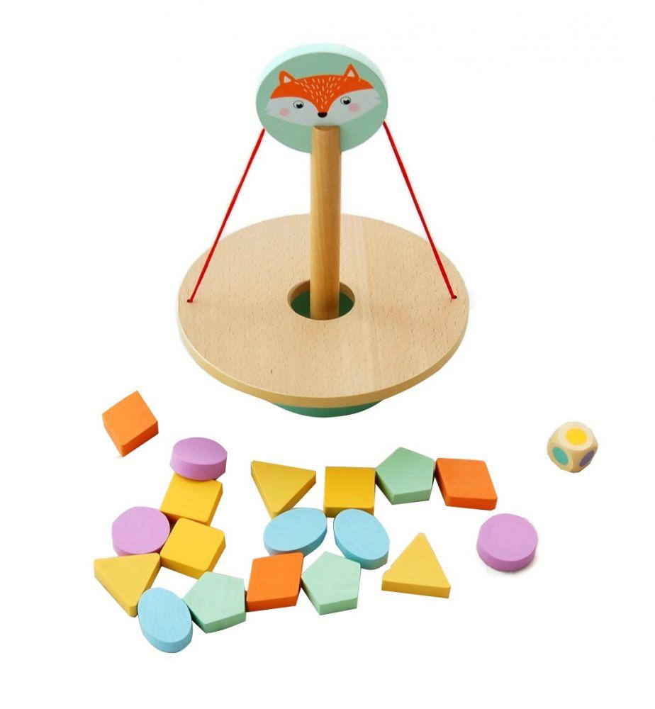 Gra zręcznościowa - balansujący lisek   AdamToys