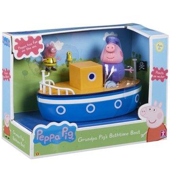 Świnka Peppa - Łodka dziadka - do kąpieli i na ląd