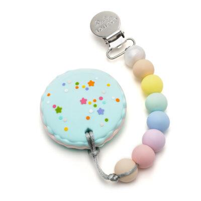 Gryzak silikonowy Macaron   Loulou Lollipop