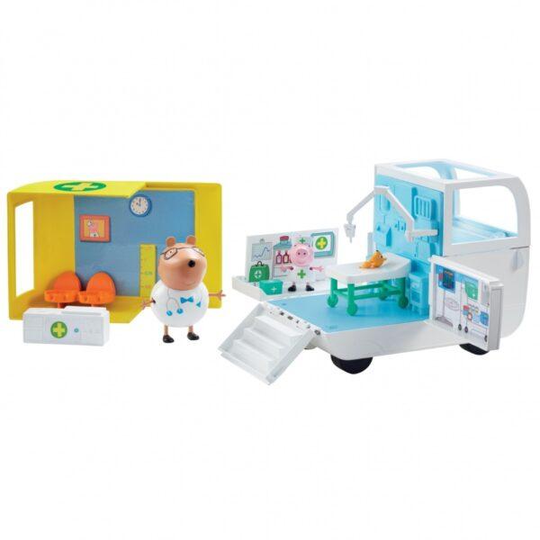 Świnka Peppa - Mobilne centrum medyczne
