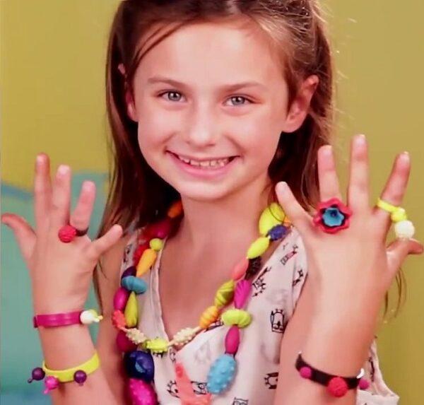 Zestaw do tworzenia biżuterii 300el | B.Toys