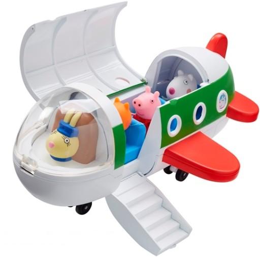 Świnka Peppa -Samolot