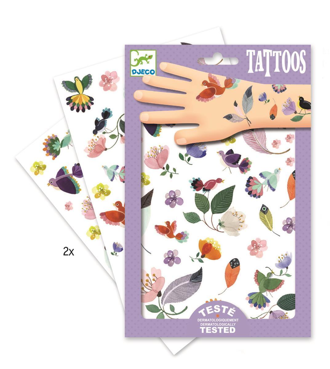 Tatuaże W locie | Djeco