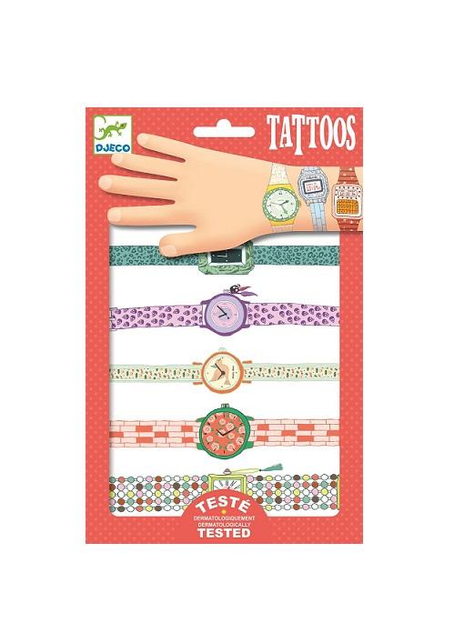 Tatuaże Zegarki | Djeco