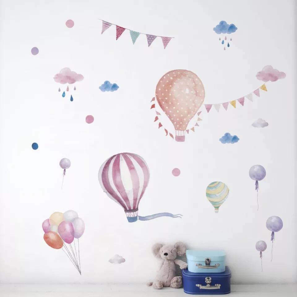 Naklejka ścienna Balony akwarelowe