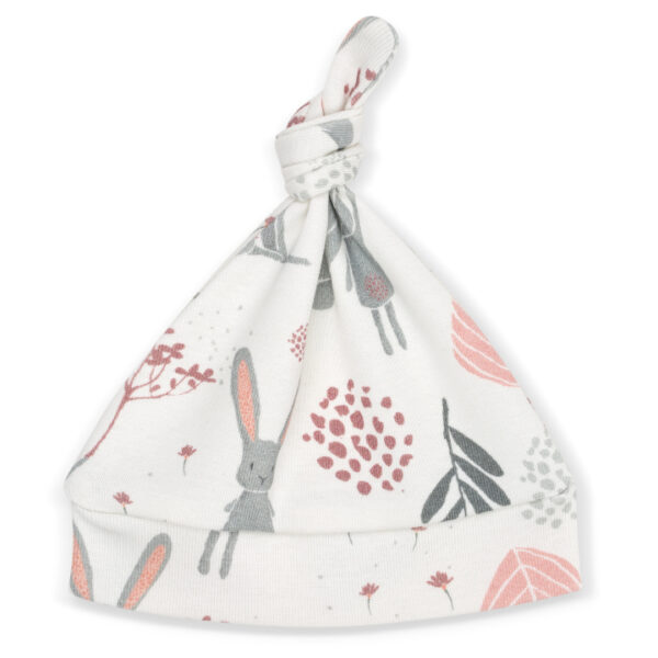Czapeczka niemowlęca Bunny 0-3msc | ColorStories