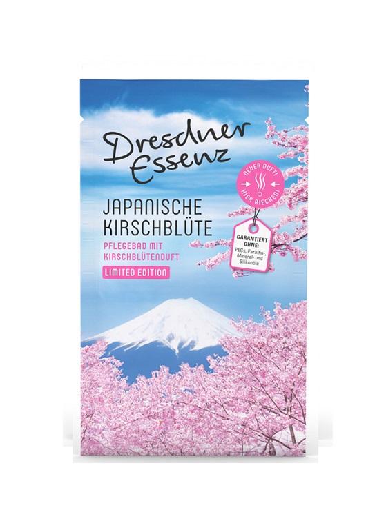 Japoński kwiat wiśni - zmysłowa sól do kąpieli 60g   Dresdner Essenz