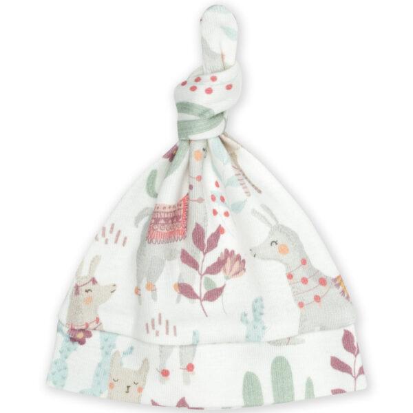 Czapeczka niemowlęca Llamas 0-3msc   ColorStories