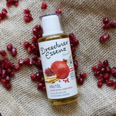 Odżywia, odmładza i chroni - olejek do ciała granat/grapefruit | Dresdner Essenz