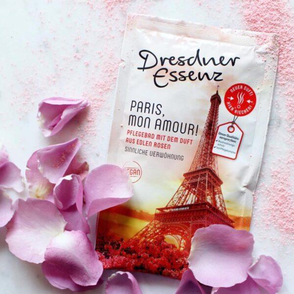 Paris,mon amour - zmysłowa i rozpieszczająca sól do kąpieli   Dresdner Essenz
