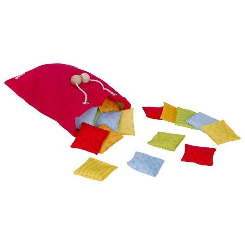 Gra sensoryczna - dotykowe poduszeczki   Goki