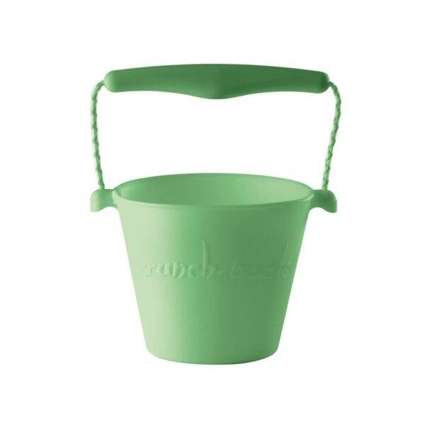 Składane wiaderko do wody i piasku Scrunch Bucket - Pastelowy Zielony