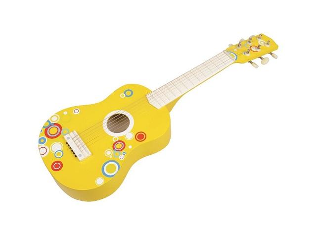 Gitara Bąbelkowa 6-strunowa   Lelin