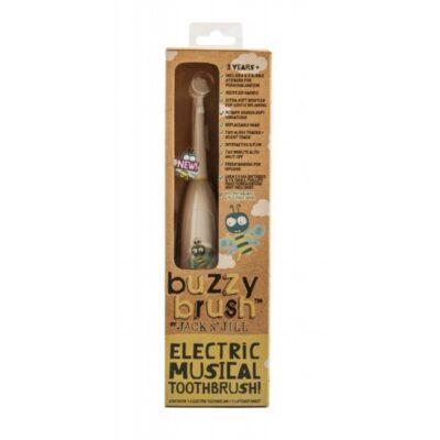 Grająca elektryczna szczoteczka dla dzieci, z naklejkami | Jack n'Jill